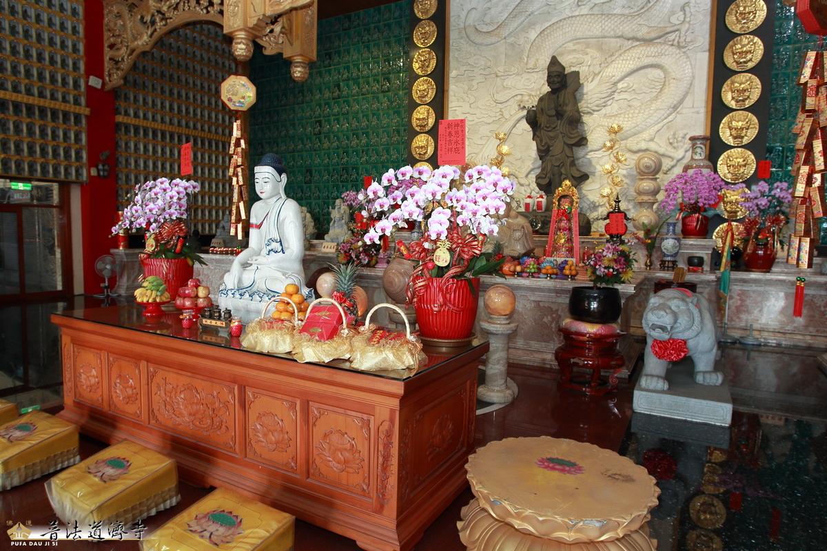 [新春團拜]2020-01-29 大年初五向禪師拜年,師父發送招財錢母(pufa.tw)